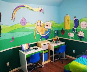 adventure time and room image