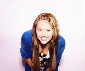 hair, miley cyrus, and smile image