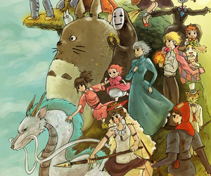 Castle in the Sky, haku, and kiki's delivery service image