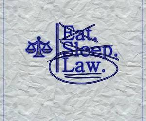 Law, eat, and sleep image