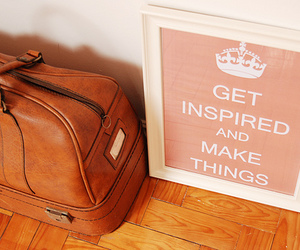 bag, inspiration, and keep calm image