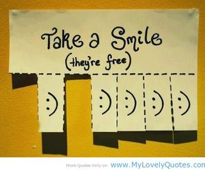 smile, free, and happy image