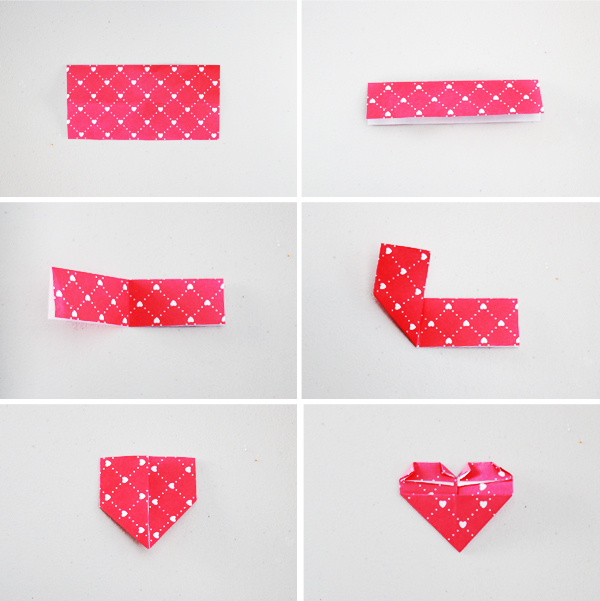 Jewel Me Love: Happy Valentine's Day DIY - Origami Paper Heart ... | 601x600
