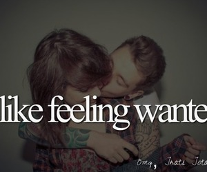 feeling and wanted image