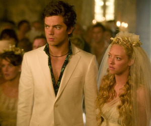 mamma mia, amanda seyfried, and dominic cooper image