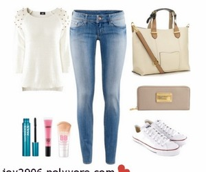 converse, H&M, and jeans image