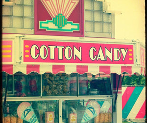 cotton candy, candy, and sweet image