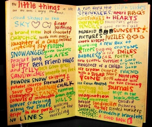 little things and text image