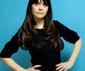 beautiful, blue, and zooey image