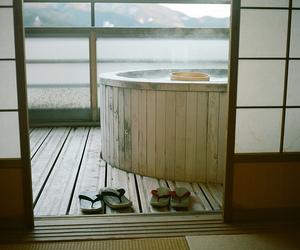 japan, asia, and bath image