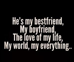 love, boyfriend, and bestfriend image