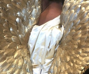 angel, wings, and gold image
