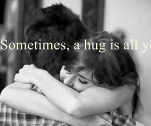 hug, life, and love image