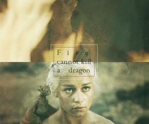 dragon, fire, and mine image