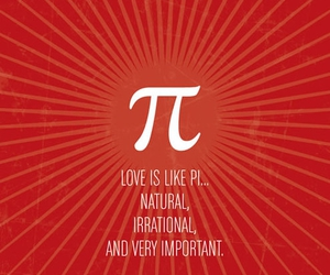 love and pi image