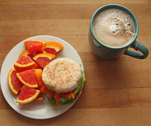 healthy, coffee, and food image