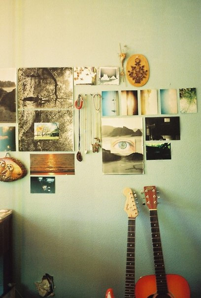 guitar, photography, and places image