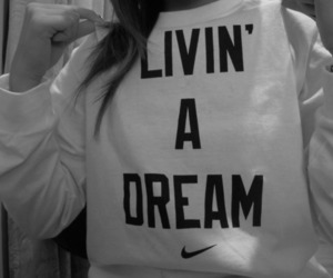 nike, Dream, and text image