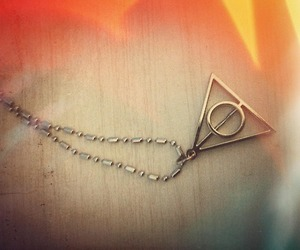 deathly hallows, harry potter, and simbol image