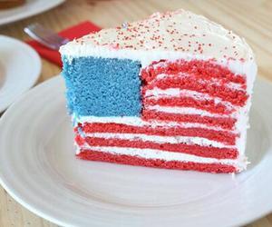cake, food, and america image