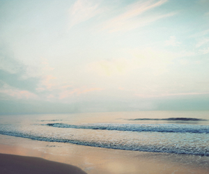 beach, outdoors, and sky image