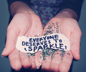 everyone, sparkle, and text image