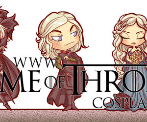 chibi and game of thrones image