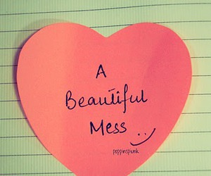 text, heart, and pink image