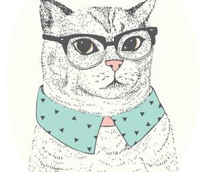 art, kitty, and cat image