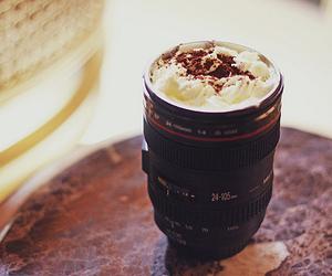 camera, food, and cream image