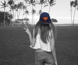 beach, jeans, and peace image