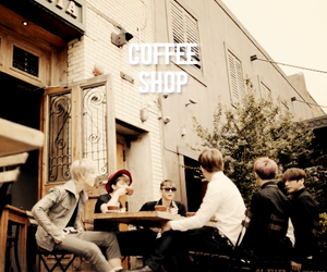 coffee shop, bap, and zelo image