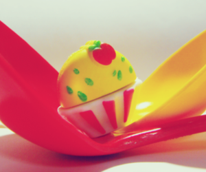 cupcake, spoon, and cute image