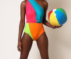 African, bathing suits, and bikini image