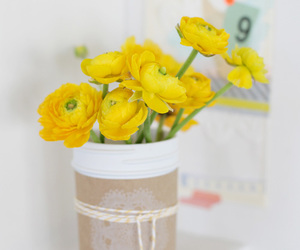 yellow and flowers image