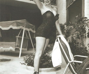 Marilyn Monroe, beautiful, and black and white image