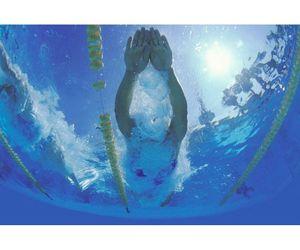photography, pool, and swim image