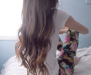 beautiful, long hair, and pale image