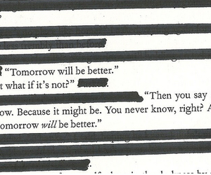 quote, tomorrow, and better image