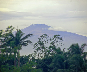 mountain, tropics, and wow image