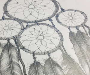 drawing, Dream, and catcher image
