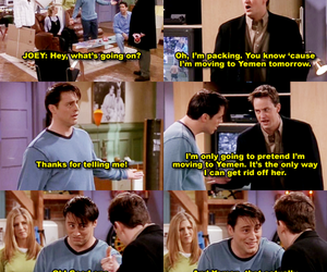 f.r.i.e.n.d.s, chandler, and Joey image