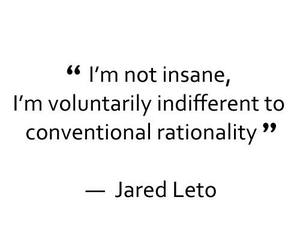 30 seconds to mars, jared leto, and quote image