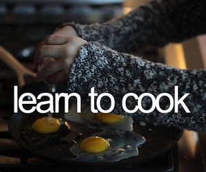 learn, before i die, and cook image