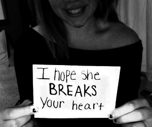 girl, text, and black and white image