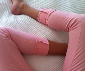 fashion, pink, and legs image