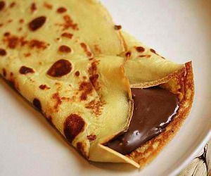 crape, lecker, and yummi image
