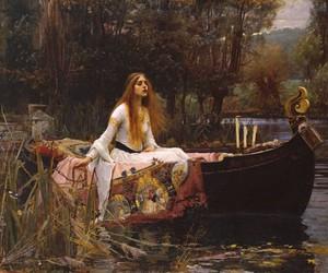 john william waterhouse and the lady of shalott image