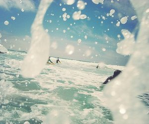 summer, surf, and water image
