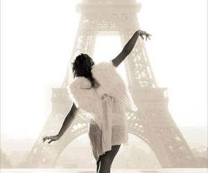 paris, angel, and ballet image